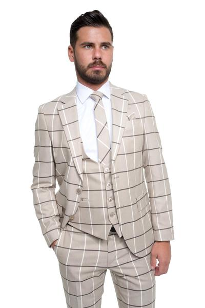 Stylish with checked pattern