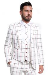 Stylish with checked pattern 001