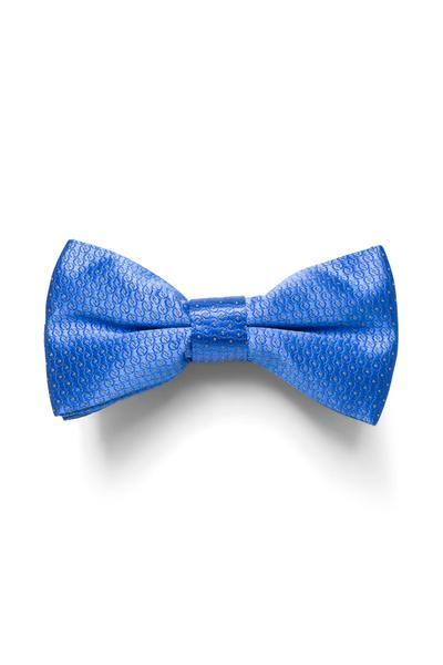 Playful bow tie with yellow dots