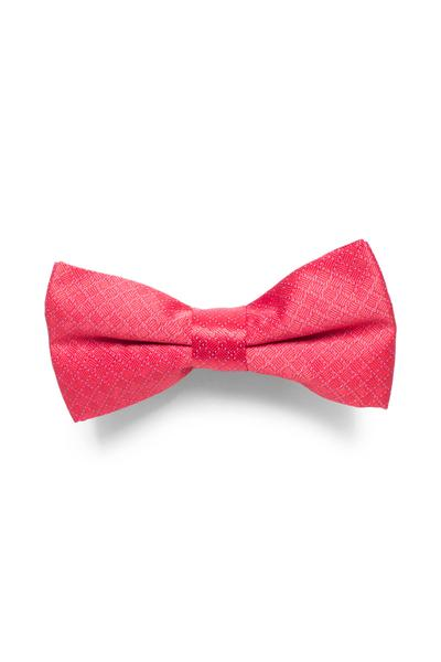 Red bow tie with a nice checked design