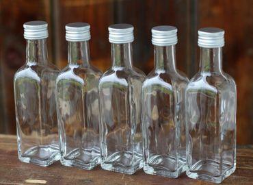 Glasflasche Maraska mit Schraubverschluss 100ml, 8 Stück