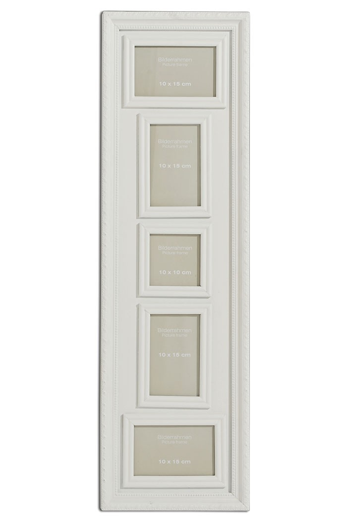 Bilderrahmen weiß 5 Shabby Rahmen Landhaus Fotorahmen Höhe 85cm