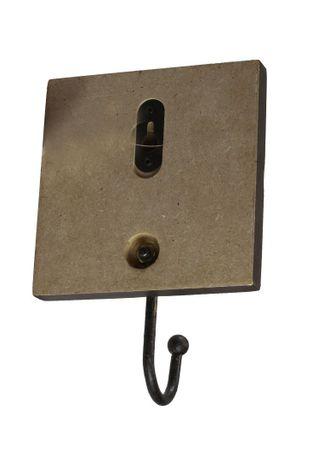 Wandhaken Family Holz- Schild mit Metall Haken – Bild 3