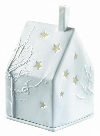Lichthaus - X-mas Baum - Windlicht Haus von Räder Design
