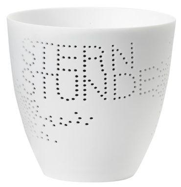 Windlicht Poesielicht Sternstunden aus Porzellan von Räder Design – Bild 1