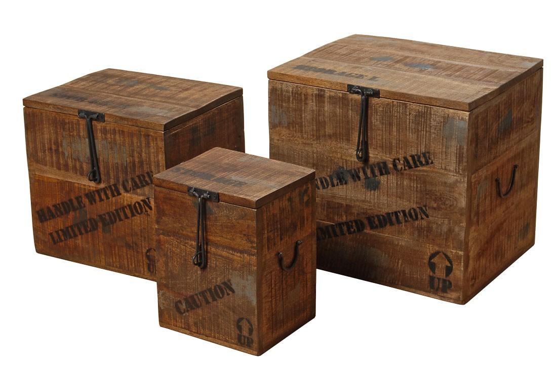kiste flexo aufbewahrungsbox landhaus antik holzkiste. Black Bedroom Furniture Sets. Home Design Ideas