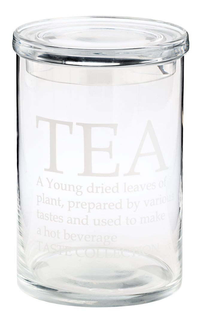 glasdose tea mit deckel shabby landhaus aufbewahrungsglas vorratdsdose. Black Bedroom Furniture Sets. Home Design Ideas