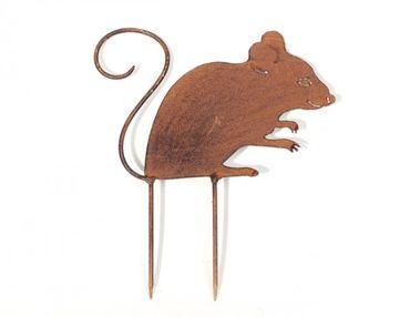 Beetstecker Maus mit Rostpatina