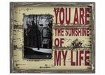"""Bilderrahmen """"Sunshine"""" Shabby Chic Fotorahmen für Bilder 10x15cm"""