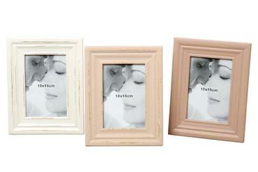 Bilderrahmen Sugar Shabby Chic Fotorahmen Holz für 10x15 Fotoformat