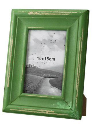 Bilderrahmen - Fresh Summer - Shabby Holz Fotorahmen Format 10x15 – Bild 7