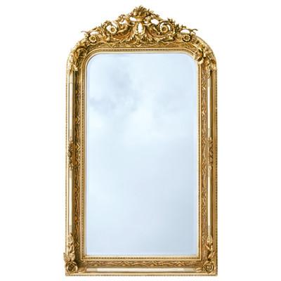 Pracht Barock Spiegel Golden Engel Vintage Standspiegel Wandspiegel 163x90cm