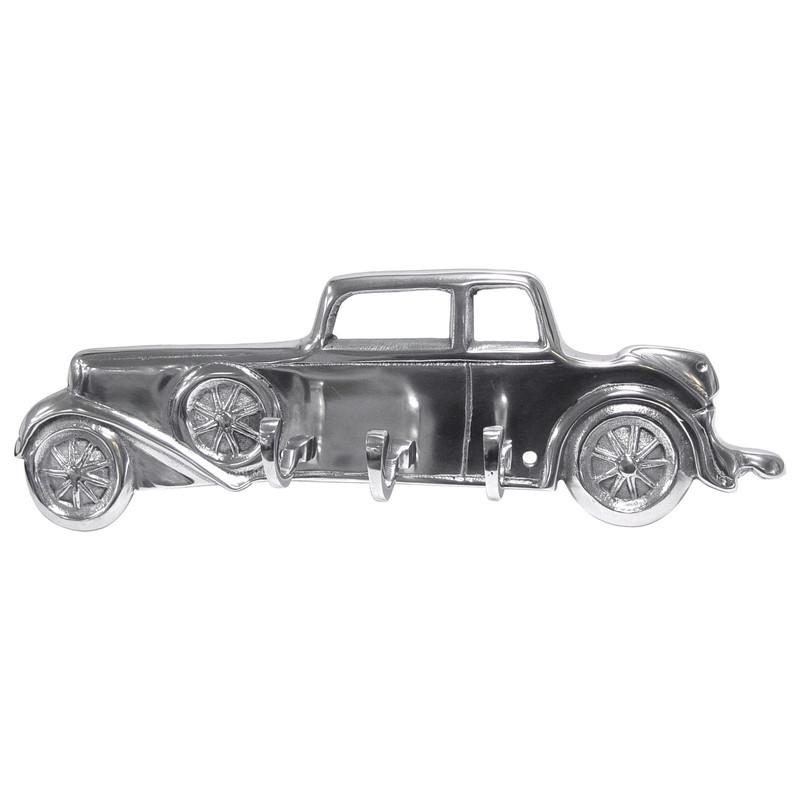 Tür Kleiderhaken Aluminium Auto Oldtimer 3-fach Haken Handtuchhaken Wand Deko
