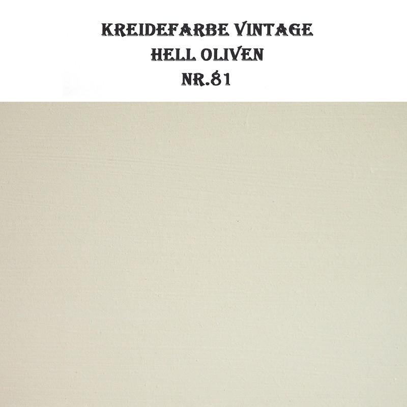 Qualitäts Kreidefarbe BORMA Vintage Möbelfarbe Helloliven 5 Liter (19,98€/ltr)