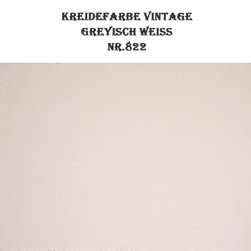 Lichtgraue Vintage Kreidefarbe Greyischweiss BORMA Möbelfarbe hell 5L 19,98€/ltr
