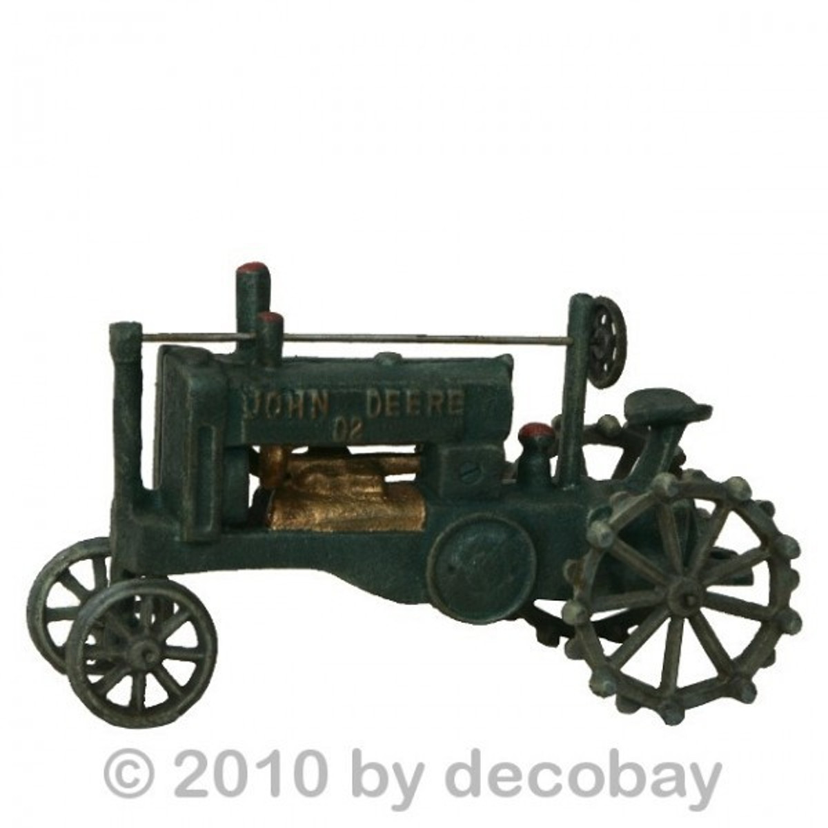 Traktor oldtimer schlepper john deere antik spielzeug