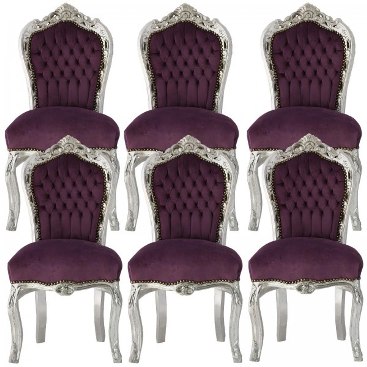 Paket Speisezimmer Mobel Essgruppe Barockmobel Stuhle 6 Stuhle In