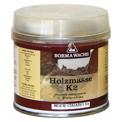 Polyester Spachtelmasse Transparent Holzkitt 2K Spachtel 125 ml Holz Antikmöbel Reparatur