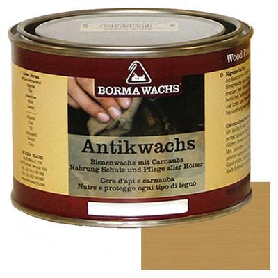 Bienenwachs Holz Antikwachs Borma Holzpflege 500 ml Dose in der Holz Farbe Antikbraun