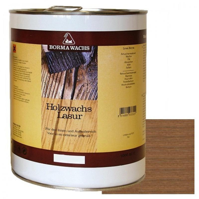 Holzschutzlasuren Möbel Pflege Borma für Nussbaum Hölzer hell Nuance 5 Liter