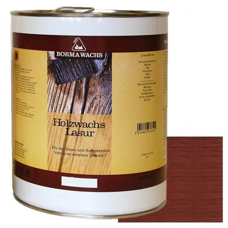 Lasur Innen Außen Holzwachs Möbelpflege und Schutz 5 Liter Mahagoni Möbel