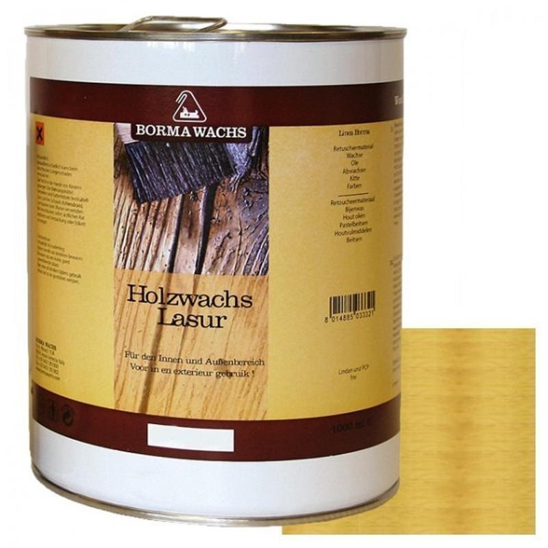 Holzschutz Lasur Wetterschutz Farbe Borma als 5 Liter Gebinde antikbraun