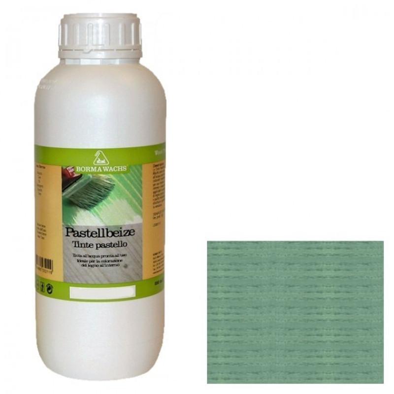 Borma Wachs NATURAQUA  Pastellbeize Kiefergrün, 1 Liter