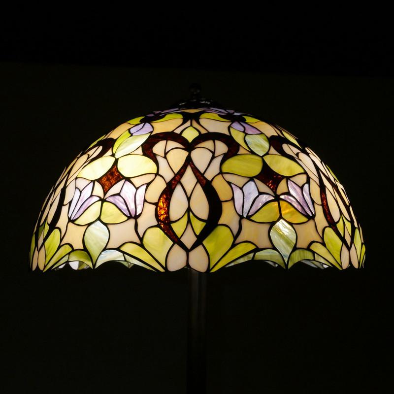 """Stehlampe """"Blumenmeer"""" im Tiffany Stil Durchmesser 50 cm"""