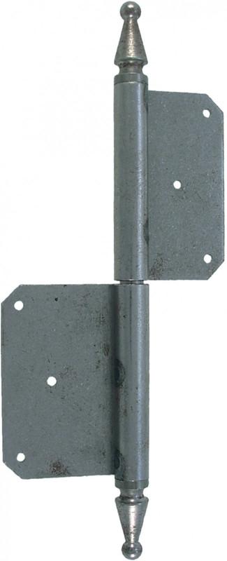 Scharnierband Scharnier Eisen 240mm Türband Innen Türen links rechts blank Tür