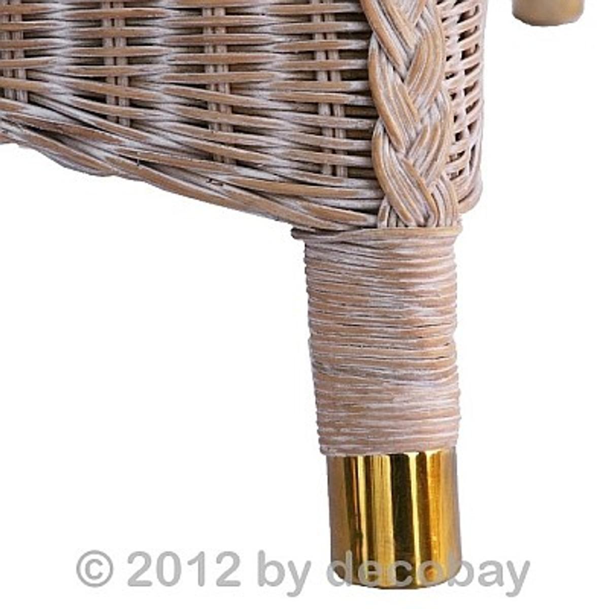 rattan stuhl aus ried schilf wei geb rstet sitzm bel haus balkon terrasse rattan m bel rattan. Black Bedroom Furniture Sets. Home Design Ideas