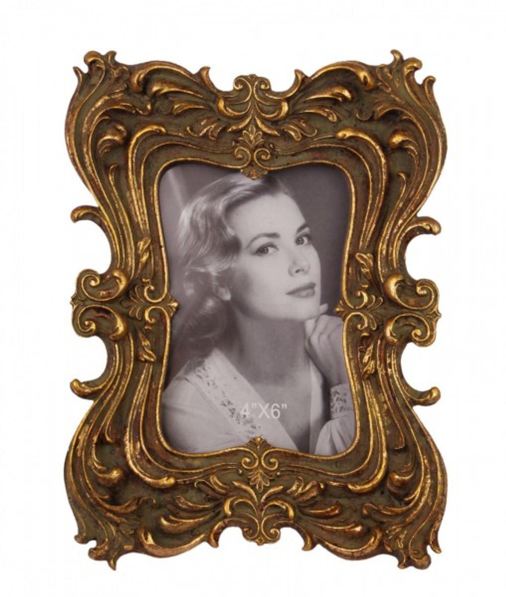 Vintage Fotorahmen für Fotos 4x6 im feinen geschwungener Bilderrahmen Design.
