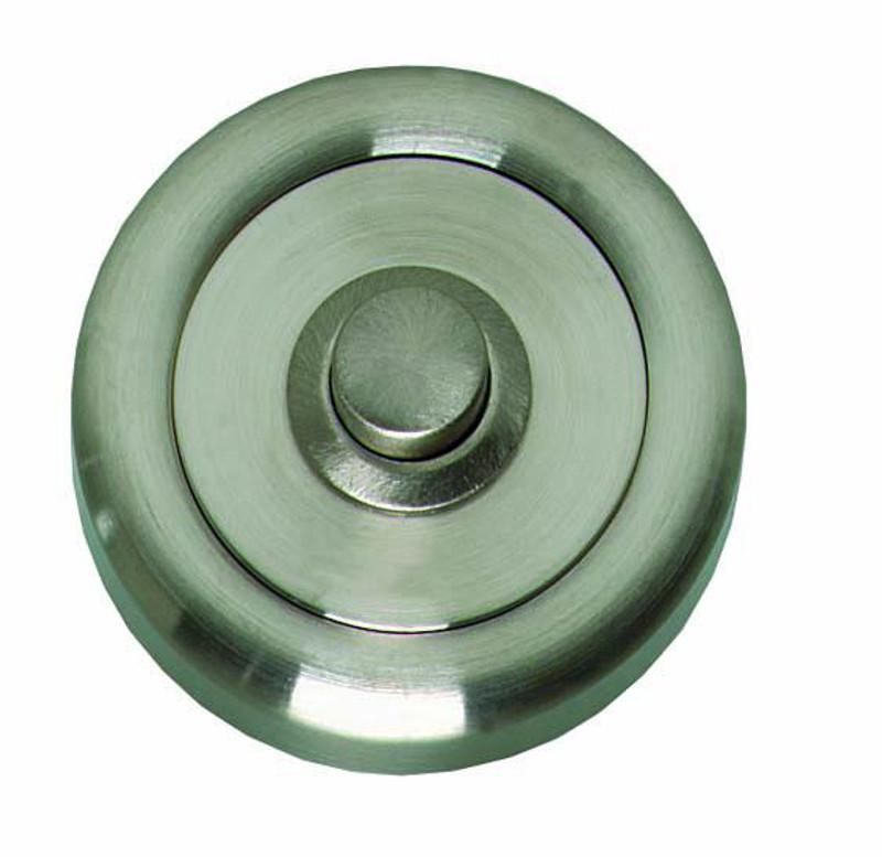 Haustürklingel Klingelknopf Nickel matt zum an der Tür Klingeln kaufen.