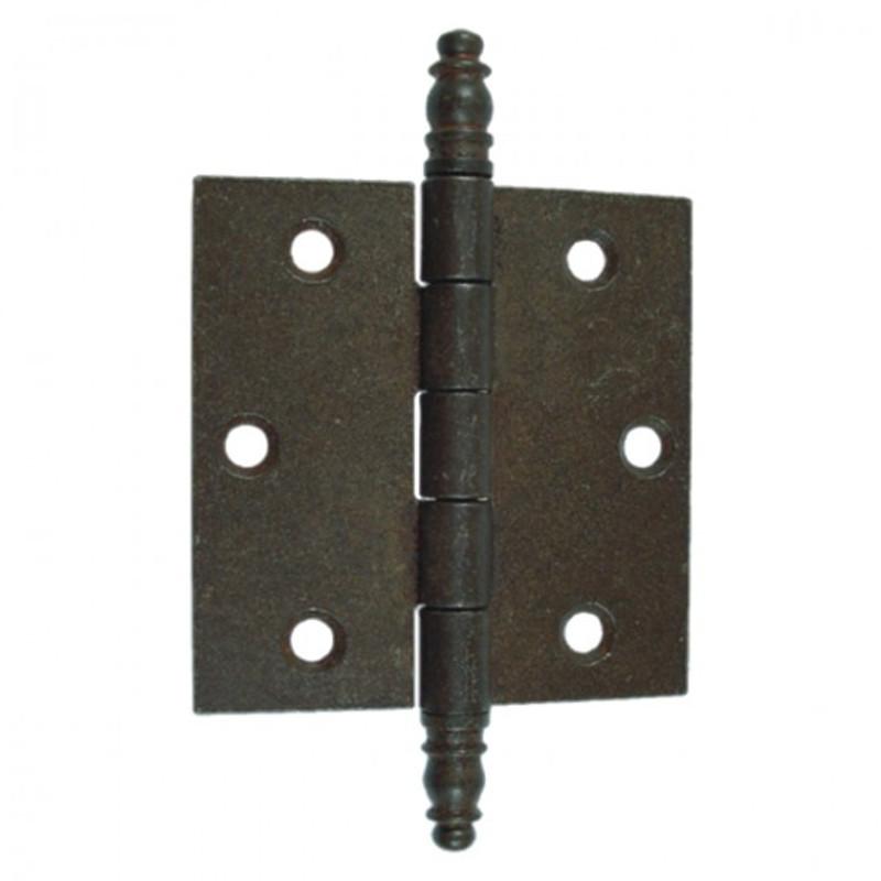 Eisen Scharnier Beschlag Eisen antik 105mm zur vielseitigen Verwendung an Türen jeglicher Art im rustikalen Design