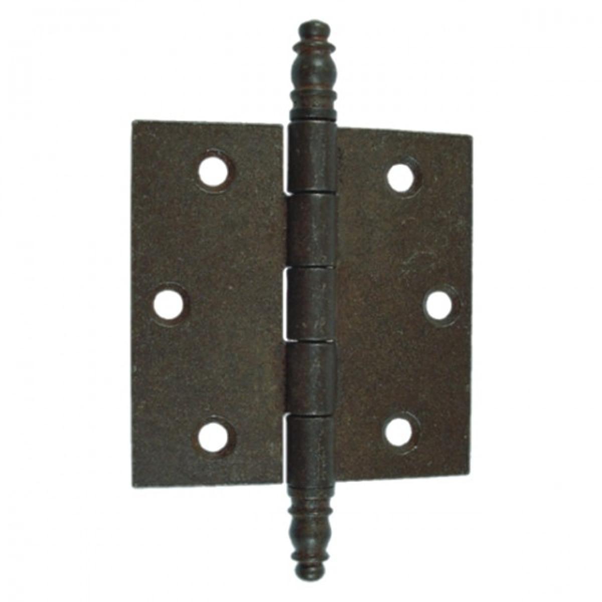 Scharnier Türband Beschlag Eisen antik 90mm zur vielseitigen Verwendung an Türen jeglicher Art im Rustikal Look