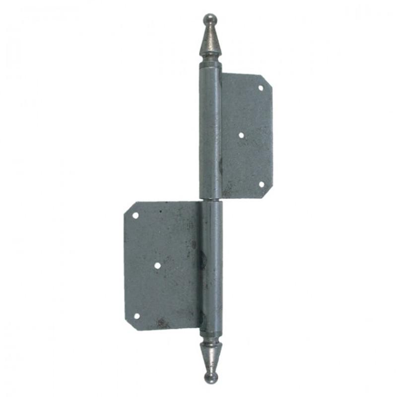Tür Scharnier Eisen 220mm zur vielseitigen Verwendung an Türen für Haus und Hof in der Ausführung links oder rechts
