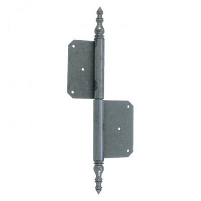 Scharniere Beschläge für die Tür: 1 Scharnier Eisen 270mm zur vielseitigen Verwendung für Türen in links oder rechts
