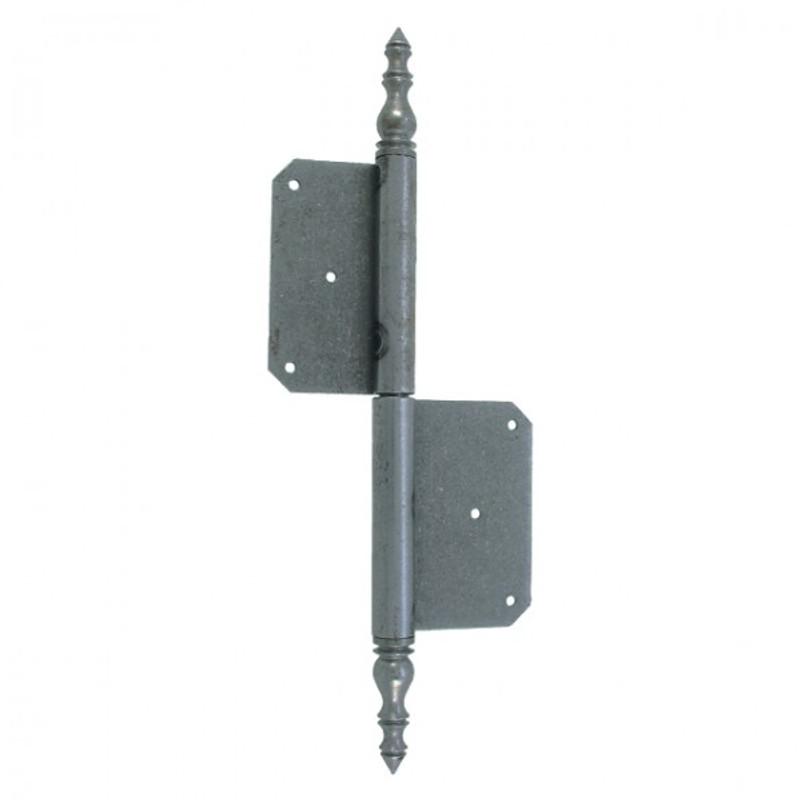 Beschlag Scharnier Eisen 290mm zur vielseitigen Verwendung für Türen in der Ausführung Links oder Rechts erhältlich