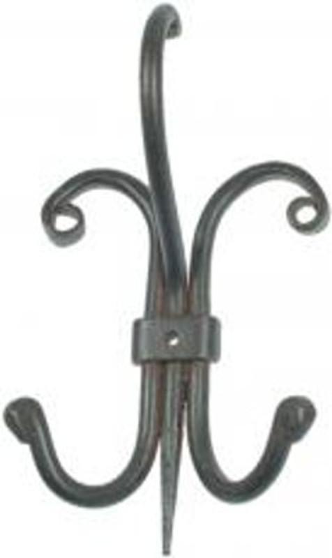 Garderobenhaken Eisen alte Garderobe Gusseisen zum Aufhängen von Kleidern, Mänteln und Handtüchern.