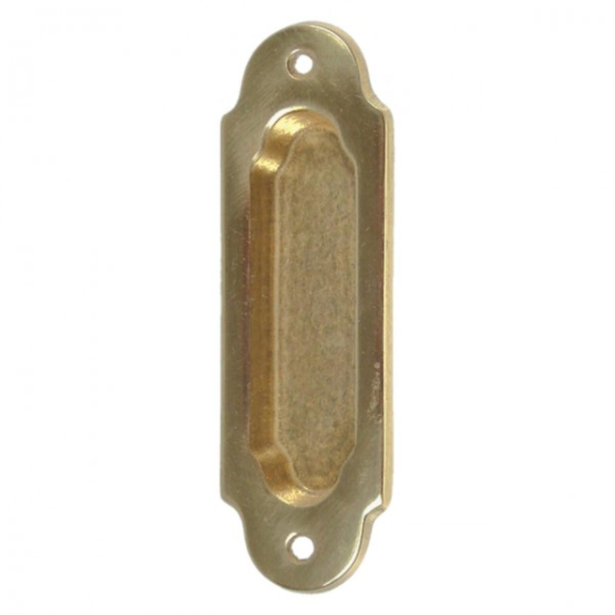 Schiebe Raumteiler Schiebetürgriff Messing Türbeschlag Türgriff zum Öffnen und Schließen der Schiebetür.