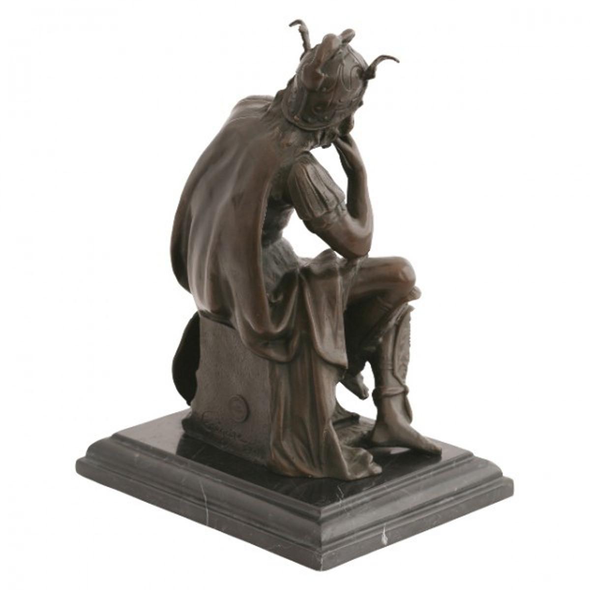 Statuen antike dekoration mann legion r deko garten figur for Antike dekoration