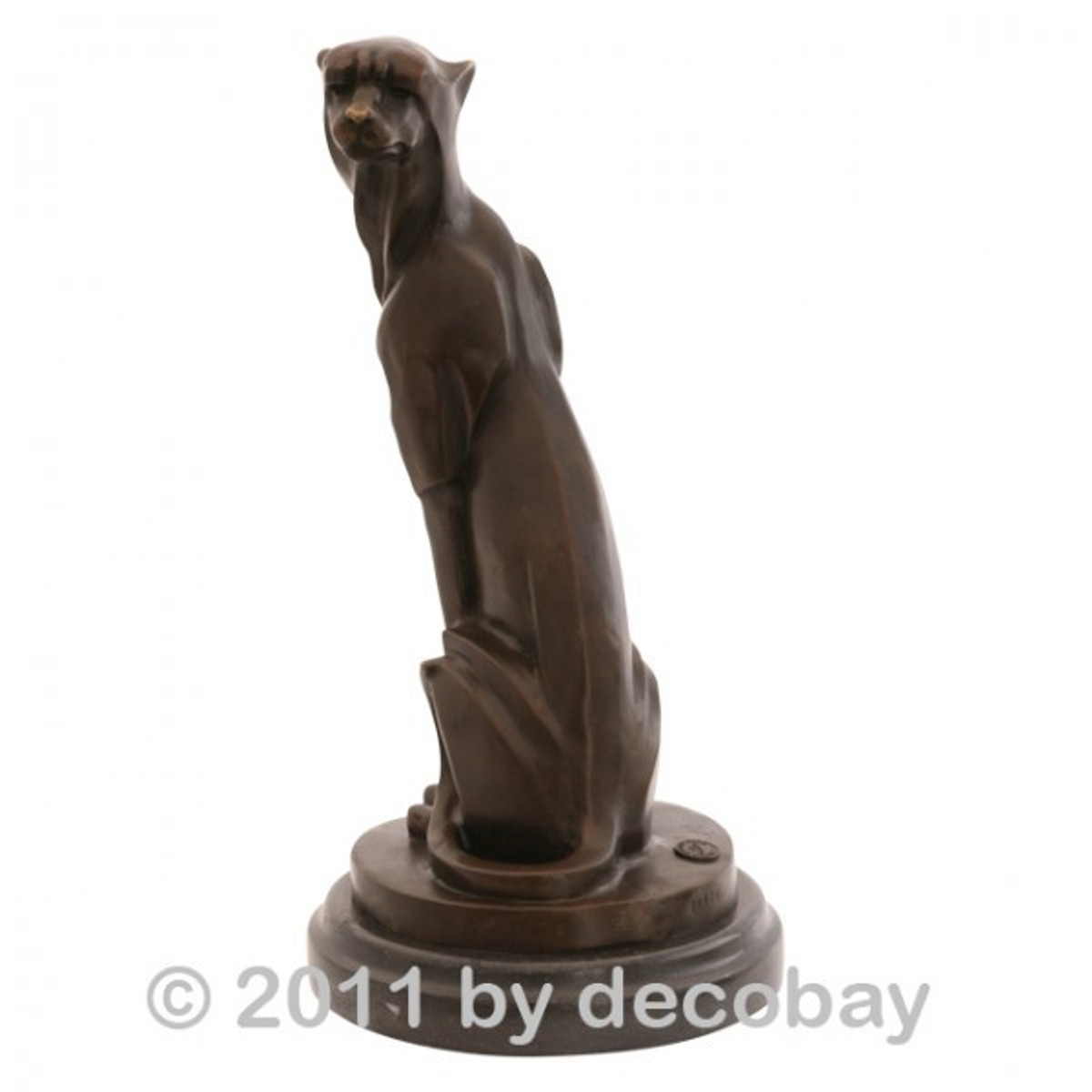 Moderne Kunst Skulpturen bronze statue dekoration puma wildkatze moderne kunst bronze