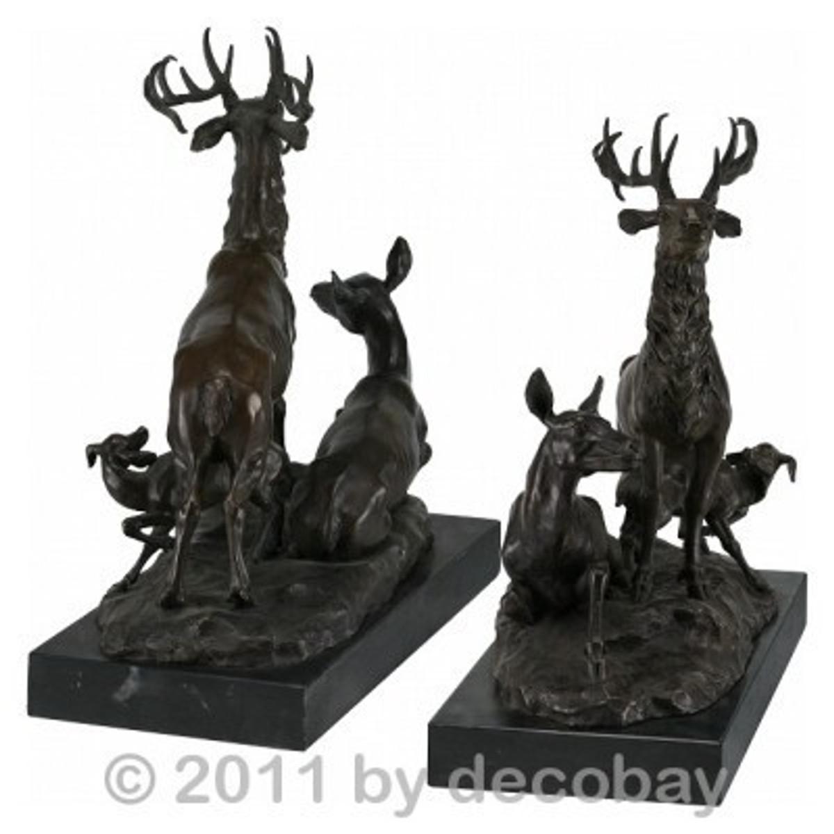 Figuren im Garten Hirsche Familie Bronze Skulptur online zum Spitzenpreis bestellen und auf schnelle Lieferung freuen.
