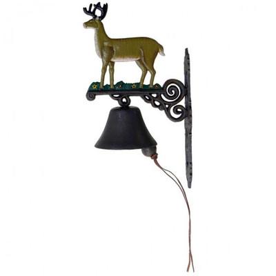 Glocke Gusseisen Zum Hirsch aus Eisen Eingangsglocke Deko für ganz besondere Häuser online aus unserem Sortiment ordern.