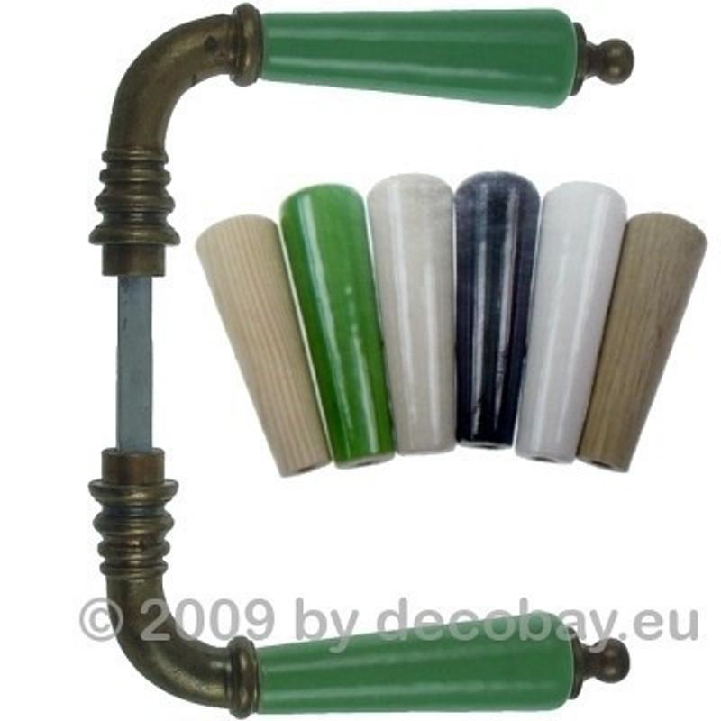 Türgriffe für Innentüren Messing und Porzellan Türdrücker in weiß aus unserem Türgriff-Shop online kaufen.