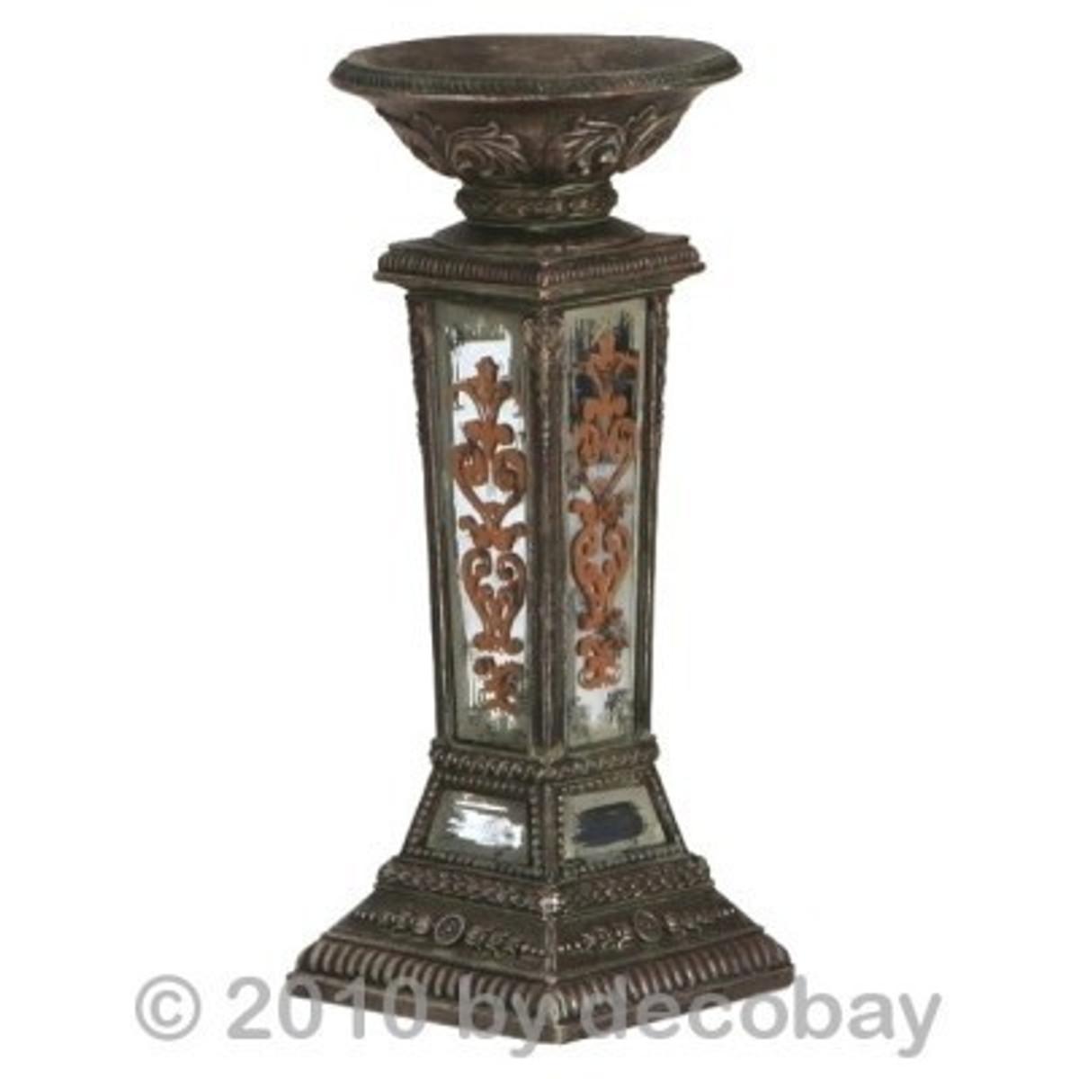 Kerzen Deko Teelichthalter Kerzenleuchter Kerzenständer ein antikes Design für große Anlässe online bestellen.