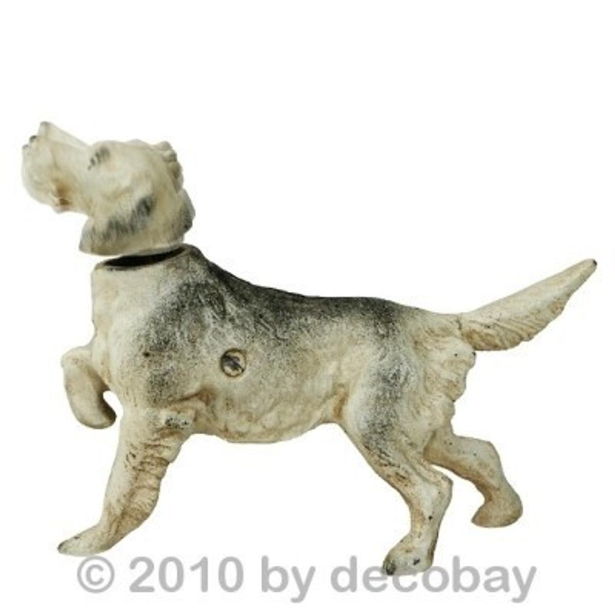 Wackelkopf Hunde Figur Statue kaufen als Dekoration und witzige Geschenkidee aus unserem Deko Online Shop.