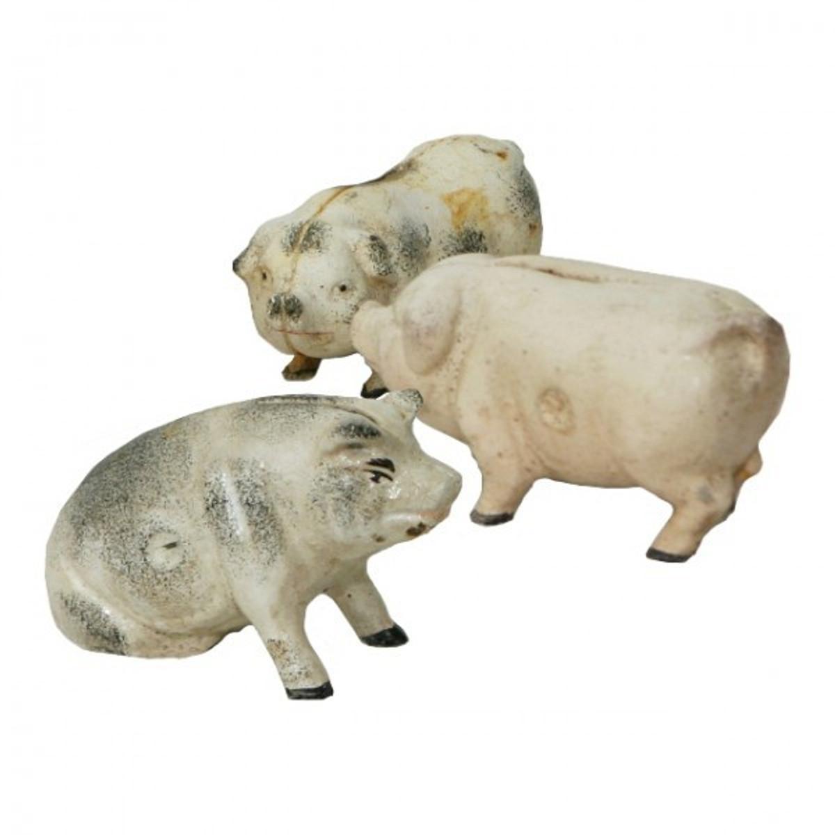 Schweine Spardosen Set für tierischen Spaß beim Sparen für die ganze Familie.