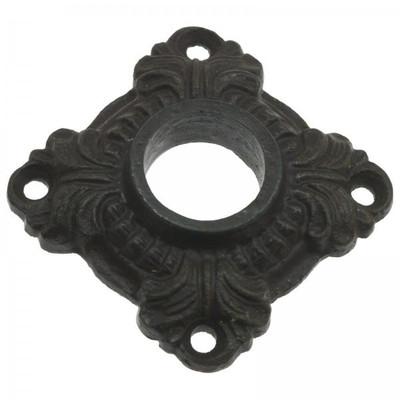 Eisenrosette rustikal im Antik Mittelalter Design für Türgriffe Klinken als Türbeschlag kaufen.