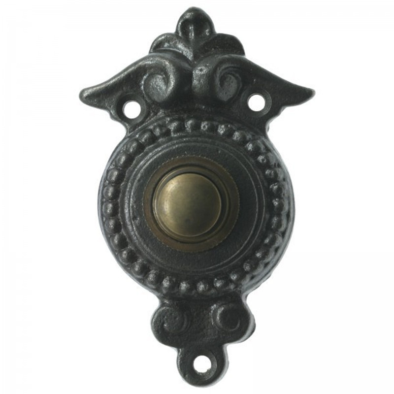 Haustür Klingel mit Landhausstil Flair aus Eisen Antik gestaltete Klingel für Ihr Haus.