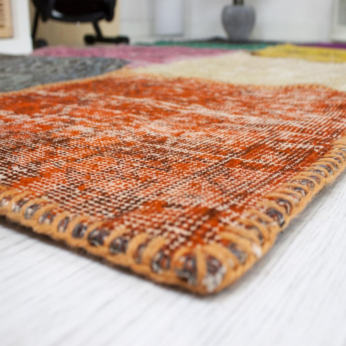 Hochwertige teppiche  Hochwertiger VINTAGE Patchwork Teppich, Original Handgeknüpft ...